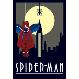 Marvel Deco Spider-Man Hanging - Maxi Poster