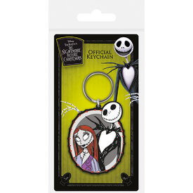 Nightmare Before Christmas Jack & Sally - Keyring