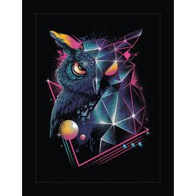 Vincent Trinidad Rad Owl - Framed Print