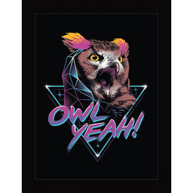 Vincent Trinidad Owl Yeah! - Framed Print