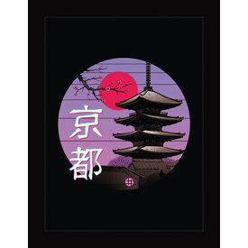 Vincent Trinidad Kyoto Wave - Framed Print