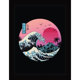 Vincent Trinidad The Great Retro Wave - Framed Print