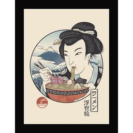 Vincent Trinidad Taste Of Japan - Framed Print