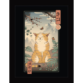 Vincent Trinidad Edo Cat - Framed Print