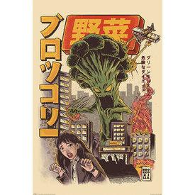 Ilustrata Broccozilla - Maxi Poster
