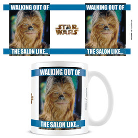 Star Wars Walking Out Of The Salon - Mok