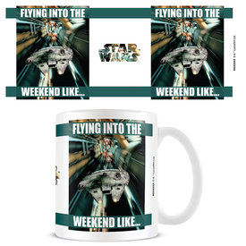 Star Wars Flying Into The Weekend - Mok