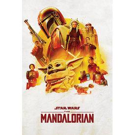 Star Wars The Mandalorian Adventure - Maxi Poster