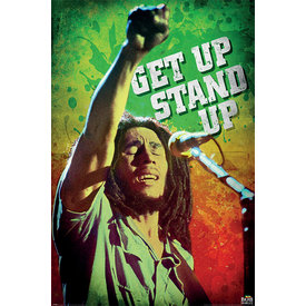 Bob Marley Get Up Stand Up - Maxi Poster