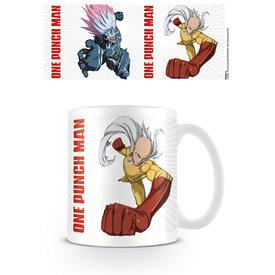One Punch Man Saitama Vs. Boros - Mug