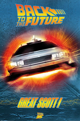 Products tagged with back to the future flim poster