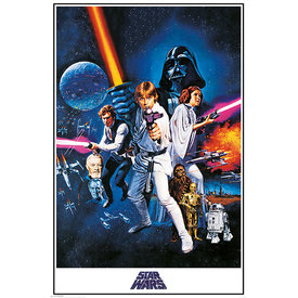 Star Wars A New Hope One Sheet - Maxi Poster