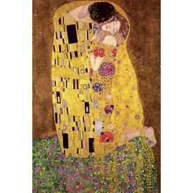 Gustav Klimt's The Kiss - Maxi Poster