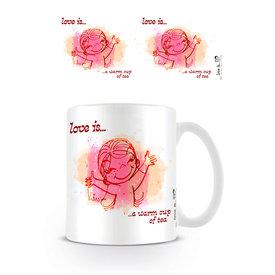 Love is ... A Warm Cup Of Tea - Mug