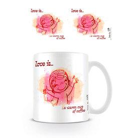 Love is ... A Warm Cup Of Coffee - Mug