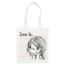 Love Is ... Pink Dots - Carrier Bag