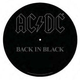 AC/DC Back In Black - Slipmat