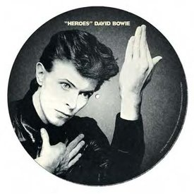 David Bowie Heroes - Slipmats