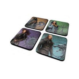 The Witcher Legendary - Coaster Set