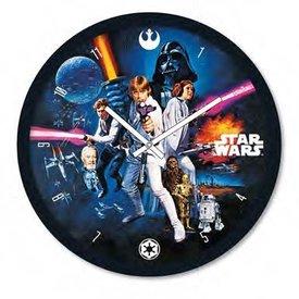 "Star Wars A New Hope Poster - 10"" Wandklok"