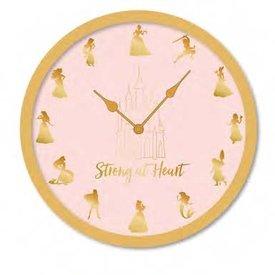 """Disney Princess Strong At Heart - 10"""" Wall Clock"""