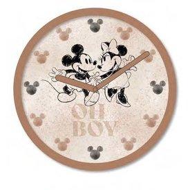 "Mickey Mouse Blush - 10""  Wall Clock"