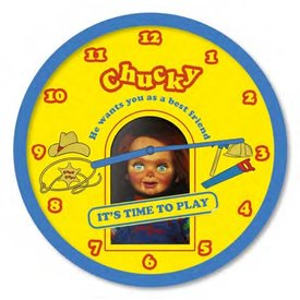 """Chucky Time To Play - 10"""" Wall Clock"""