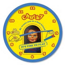 "Chucky Time To Play - 10"" Wandklok"