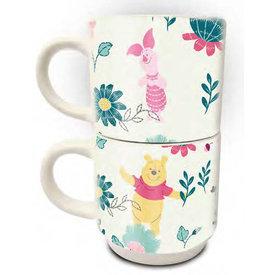 Winnie the Pooh Friends Forever - Stack Mug Set