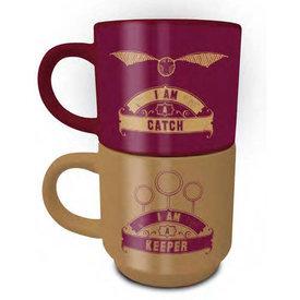 Harry Potter Catch & Keeper - Stack Mug Set