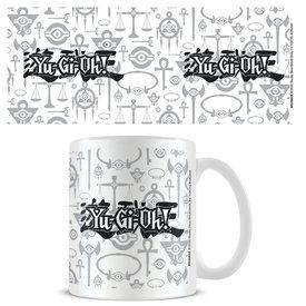 Yu-Gi-Oh! Logo Black & White - Mok