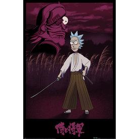 Rick And Morty Samurai Rick - Maxi Poster