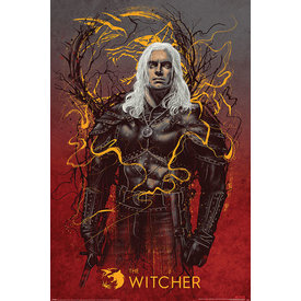 The Witcher Geralt The Wolf - Maxi Poster