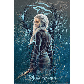The Witcher Ciri The Swallow - Maxi Poster