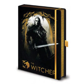 The Witcher Forest Hunt - Premium A5 Notebook
