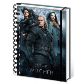 The Witcher Connected By Fate - A5 Notebook