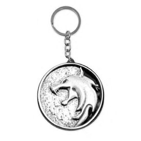 The Witcher The Wolf - Metal Keyring