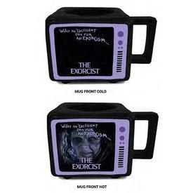 The Exorcist You Wanna Play - Retro TV Heat Change Mug