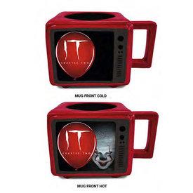 IT Time To Float - Retro TV Heat Change Mug
