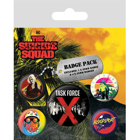 The Suicide Squad Task Force - Badge Pack