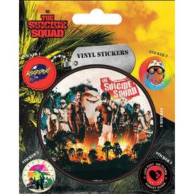 The Suicide Squad Team - Vinyl Stickers
