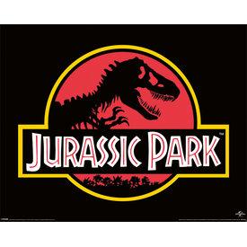 Jurassic Park Classic Logo - Mini Poster