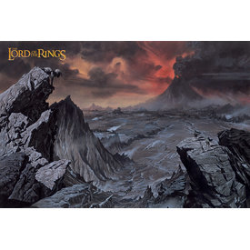 The Lord Of The Rings Mount Doom - Maxi Poster