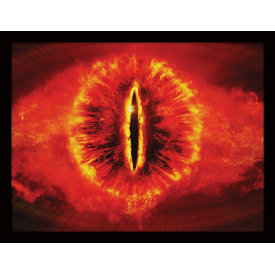 The Lord Of The Rings Eye - Framed Print