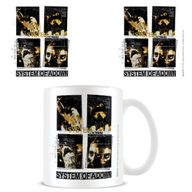 System Of A Down Distortion - Mug