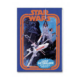 Star Wars Strikes Again  - A5 Exercise Notebook