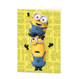 Minions Minion Powered  - Cahier de note A5 Exercise