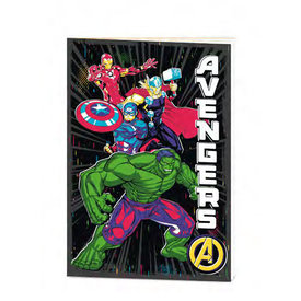 Marvel Avengers Be Bold  - Cahier de note A5 Exercise