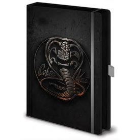 Cobra Kai Metal Badge - Premium A5 Notebook