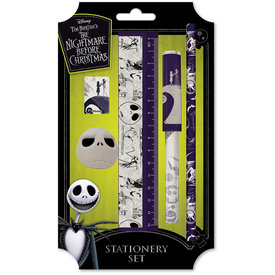 Nightmare Before Christmas Spiral Hill - Stationery Set